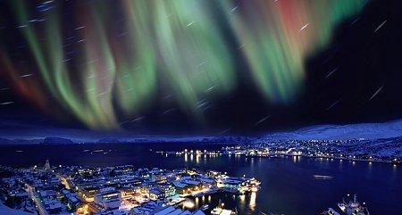 Kattints a képre a nagyításhoz  Cím:  Sarki fény - Hammerfest.jpg Megnézték: 16349 Méret:  59,8 KB Azonosító:  621
